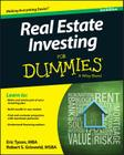 Real Estate Investing for Dummies Cover Image