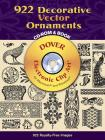 922 Decorative Vector Ornaments [With CDROM] (Dover Electronic Clip Art) Cover Image