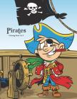 Pirates Coloring Book 1 & 2 Cover Image