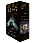 Stephen King Three Classic Novels Box Set: Carrie, 'Salem's Lot, The Shining Cover Image