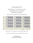 Steenerson's Revenue & Taxpaid Stamp Certified Plate Proof Reference Series - Narcotic 1 & 2-QUAD Cover Image