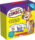 First Little Comics: Levels E & F (Parent Pack): 16 Funny Books That Are Just the Right Level for Growing Readers (First Little Comics Parent Pack) Cover Image