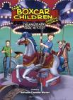 The Amusement Park Mystery (The Boxcar Children Graphic Novels #10) Cover Image