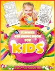 Summer Coloring Book For Kids: Summer Time Coloring Book (Children's Book Vacation) Cover Image
