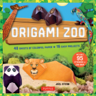 Origami Zoo Kit: Make a Complete Zoo of Origami Animals!: Kit with Origami Book, 15 Projects, 40 Origami Papers, 95 Stickers & Fold-Out Cover Image