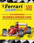 The Formidable Scuderia Ferrari Cars: Ferrari Sticker Book Cover Image