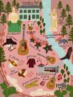 Music City Blank Journal: (A Nashville Inspired Work of Art) Cover Image