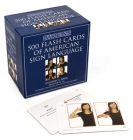 500 Flash Cards of American Sign Language Cover Image