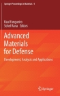 Advanced Materials for Defense: Development, Analysis and Applications Cover Image