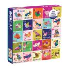 Birds A to Z 500 Piece Family Puzzle Cover Image