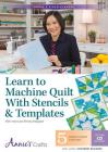 Learn to Machine Quilt with Stencils & Templates Class DVD: With Instructor Wendy Sheppard Cover Image