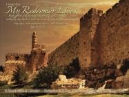 My Redeemer Lives Jewish Calendar: 16 Month Biblical Calendar - September 2021/Elul 5782 Through December 2022/Kislev 5783 Cover Image
