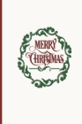 Merry Christmas: Card List Tracker - Yearly Address Record Book Cover Image