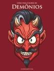 Livro para Colorir de Demônios Cover Image