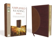 Amplified Reading Bible, Imitation Leather, Brown: A Paragraph-Style Amplified Bible for a Smoother Reading Experience Cover Image