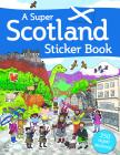 A Super Scotland Sticker Book Cover Image