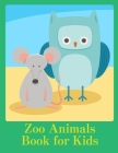 Zoo Animals Book for Kids: Christmas Animals Books and Funny for Kids's Creativity Cover Image