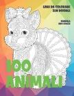 Libri da colorare Zen Doodle - Mandala Anti stress - 100 Animali Cover Image