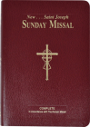 St. Joseph Sunday Missal (Large Type) Cover Image