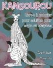 Livres à colorier pour adultes pour stylo et crayons - Mandala - Animaux - Kangourou Cover Image