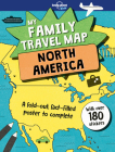 My Family Travel Map - North America Cover Image