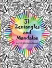 31 Zentangles and Mandalas Cover Image