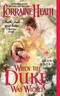 When the Duke Was Wicked (Scandalous Gentlemen of St. James Place #1) Cover Image