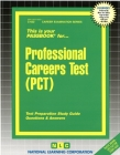 Professional Careers Test (PCT): Passbooks Study Guide (Career Examination Series) Cover Image