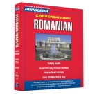 Pimsleur Romanian Conversational Course - Level 1 Lessons 1-16 CD: Learn to Speak and Understand Romanian with Pimsleur Language Programs Cover Image