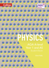 Collins AQA A-level Science – AQA A-level Physics Year 1 and AS Student Book Cover Image