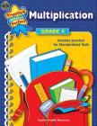 Multiplication Grade 4 (Practice Makes Perfect (Teacher Created Materials)) Cover Image
