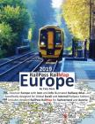RailPass RailMap Europe 2019: Discover the whole European continent with Icon, Info and photo illustrated Railway Atlas specifically designed for gl Cover Image
