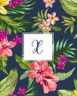 X: Tropical Floral, 150 Pages, 8