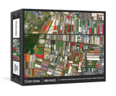 Overview Puzzle: A 1000-Piece Jigsaw featuring Dutch Tulip Fields from Overview: Jigsaw Puzzles for Adults Cover Image
