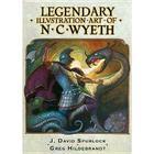 Legendary Illustration Art of NC Wyeth Hb Cover Image