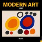 Modern Art 2020 Mini Wall Calendar Cover Image