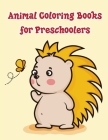Animal Coloring Books for Preschoolers: An Adorable Coloring Christmas Book with Cute Animals, Playful Kids, Best for Children Cover Image