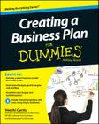 Creating a Business Plan for Dummies Cover Image