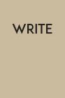 Write  - Medium Kraft (Creative Keepsakes) Cover Image