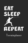 Terminplaner: Fechten Lustiger Linkshänder Fechter linkshändig - Fechtsport Planer - Fechter freier Kalender ohne Datum für 1 Jahr ( Cover Image