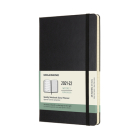 Moleskine 2021-2022 Weekly Planner, 18M, Large, Black, Hard Cover (5 x 8.25) Cover Image