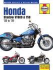 Honda Shadow VT600 & 750 '88 to '14 (Haynes Service & Repair Manual) Cover Image