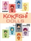 Kokeshi Dolls Coloring Book Cover Image