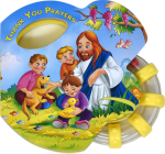Thank You Prayers (Rattle Book) (St. Joseph Rattle Board Books) Cover Image