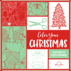 Color Your Christmas: A Crafty Christmas Adult Coloring Book Cover Image