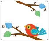 Boho Birds Name Tags, Package of 40 Cover Image