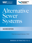 Alternative Sewer Systems Fd-12, 2e (WEF Manual of Practice) Cover Image