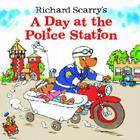 Richard Scarry's A Day at the Police Station (Look-Look) Cover Image