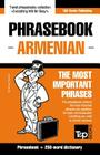 English-Armenian phrasebook and 250-word mini dictionary Cover Image