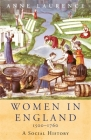 Women In England 1500-1760 (WOMEN IN HISTORY) Cover Image